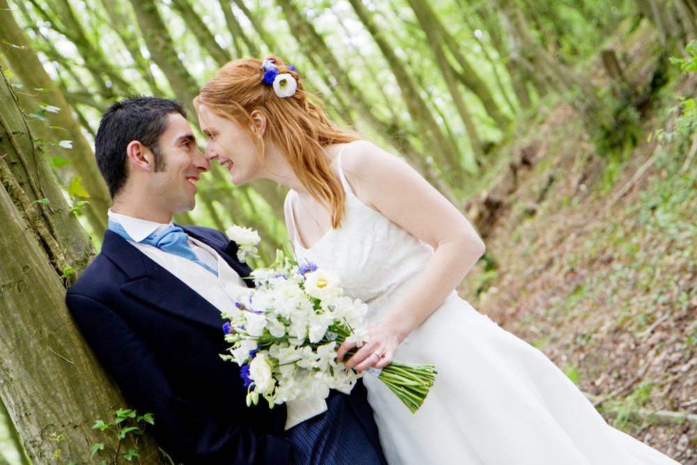 Woodland Wedding, Helen England Photography, Kent, U.K