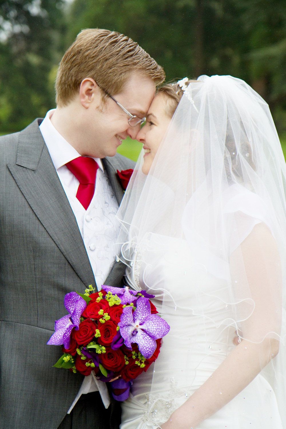 Red & Purple Wedding, Helen England Photography, Kent, U.K
