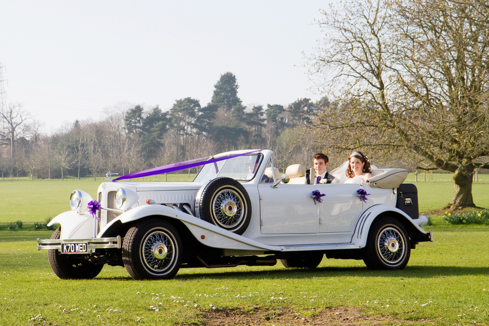 Classic Wedding Car, Helen England Photography, Kent, U.K