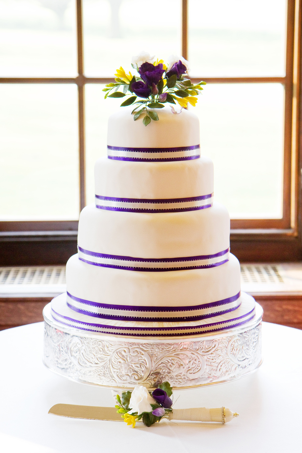 Four Tiered Wedding Cake, Helen England Photography, Kent, U.K
