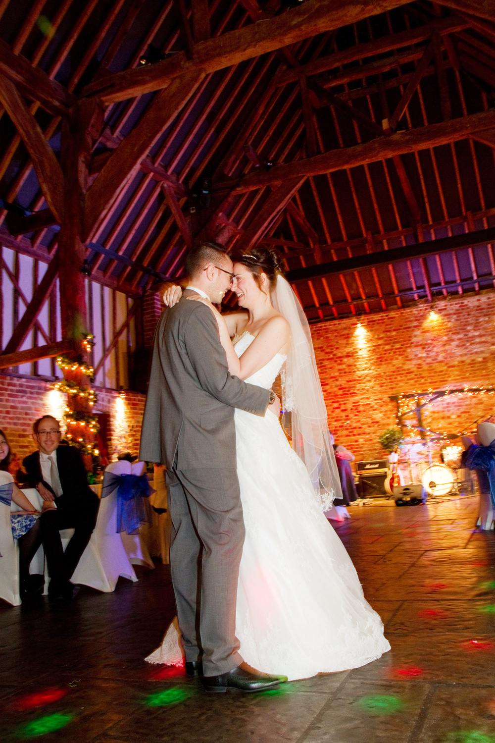 spring wedding, blues, Cooling Castle Barn, by Helen England Photography