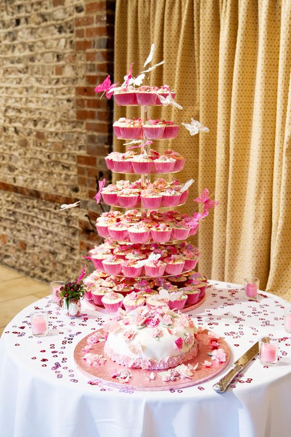 Tiered Cupcake Wedding Cake, Helen England Photography, Kent, U.K