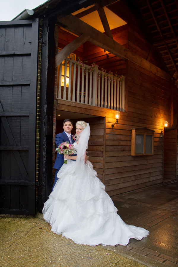 Winter Wedding, Upwaltham Barns, Helen England Photography, Kent, U.K