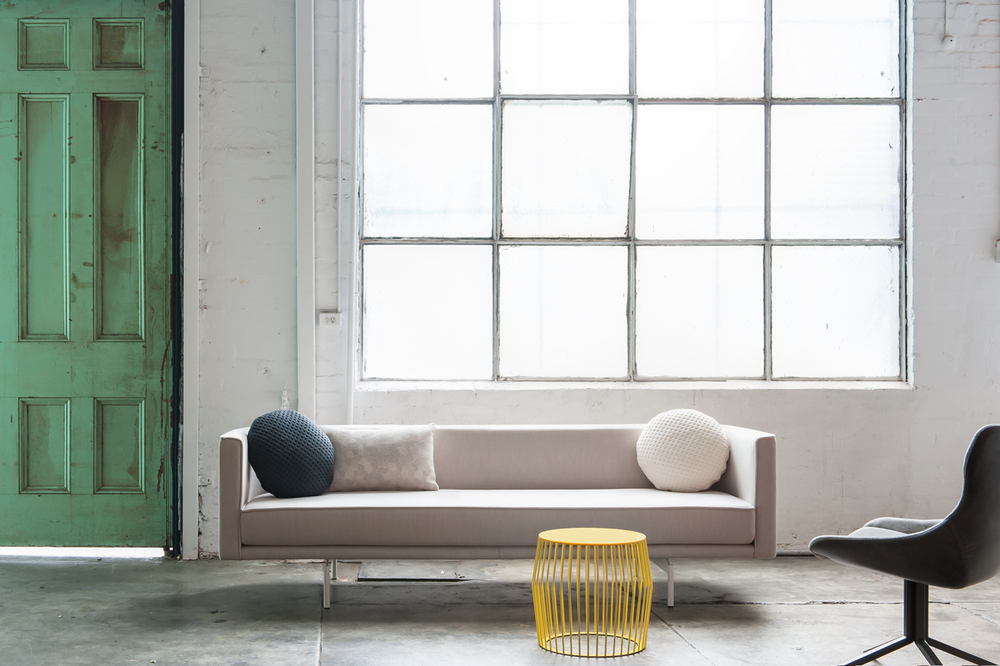 Ari Sofa + Array stool glass top + Otto chair.jpg