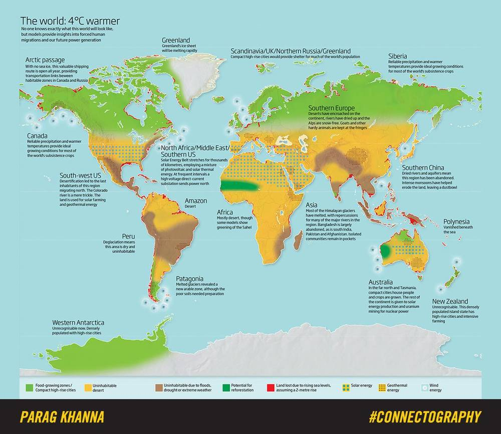 The World 4 Degrees Warmer — Parag Khanna