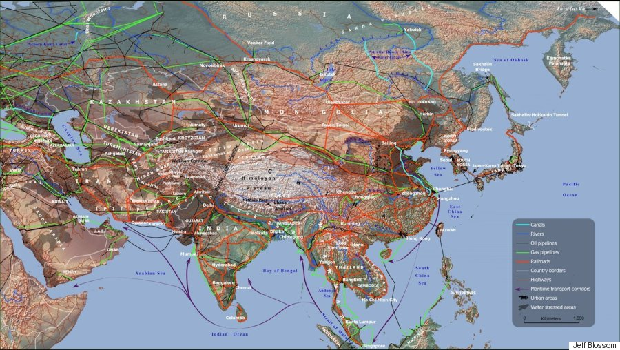 These Maps Show How Vast New Infrastructure Is Bringing The World