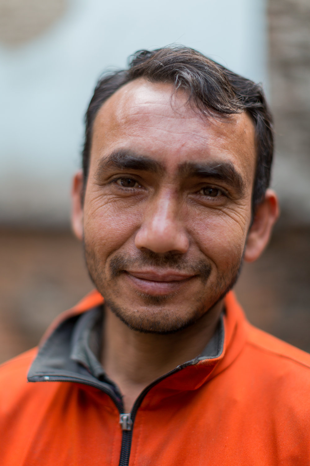 "Madhu Bahattri exerts a calmness in his approach to overcoming the unjust situation he and his family find themselves in ""we have been left with no choice, we need a home and cannot wait any longer. We have to start again."""