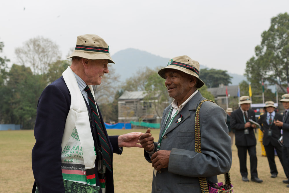 The Gurkhas have been an British army institution for 200 hundred years, the Gurkha Welfare Trust raised millions for the earthquake relief fund and celebrated their 200 year anniversary in Pokhara on February 25 2017.