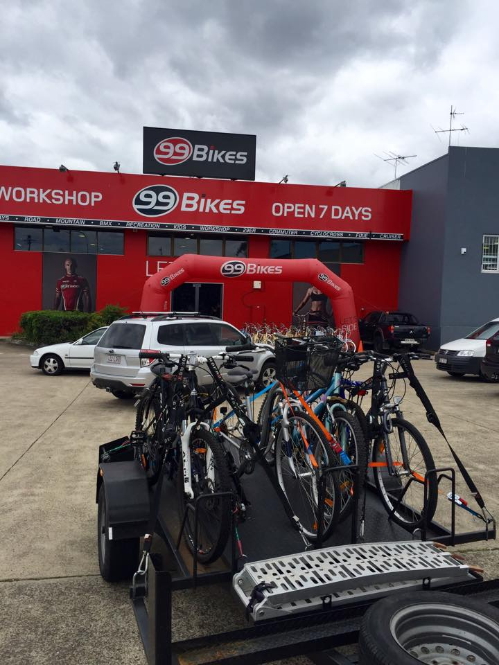 25 Bikes Donated To Brisbane Youth Program TRACTION Pedal Group 99 Advance Traders
