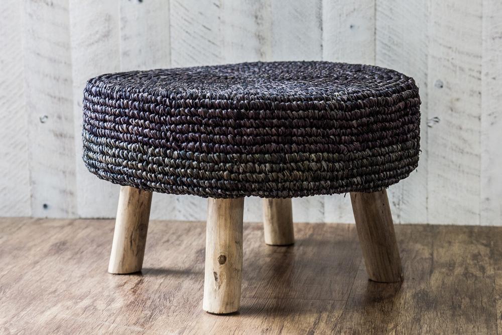 black rattan side table 2