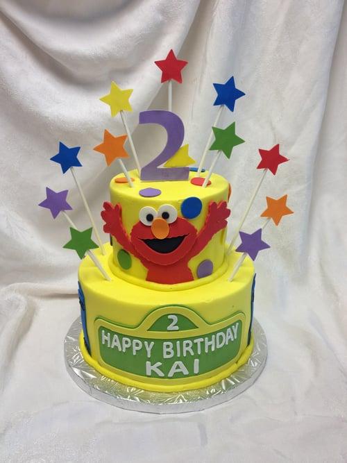 Sesame Street Elmo 2 Tier