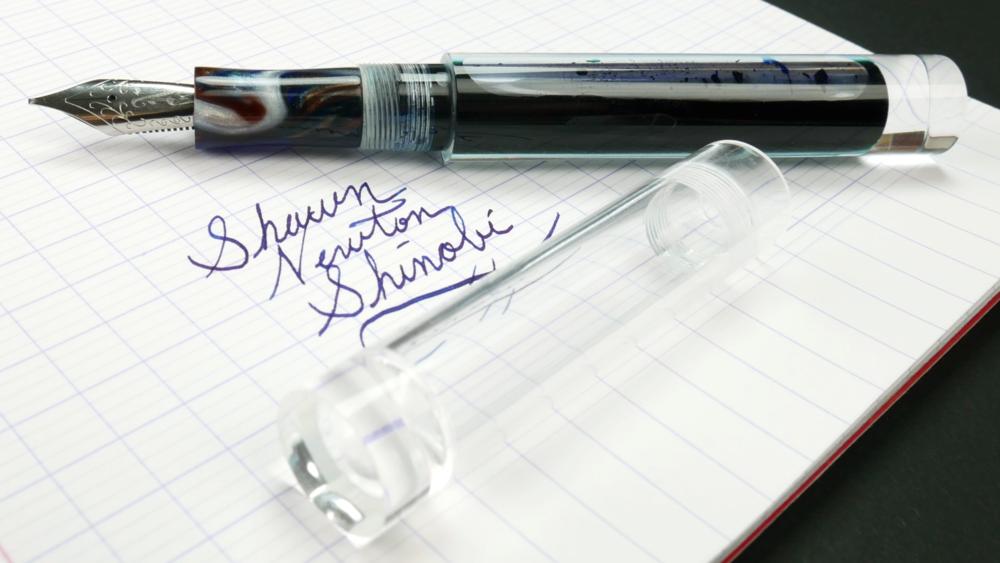 shinobi by newton pens fountain pen days