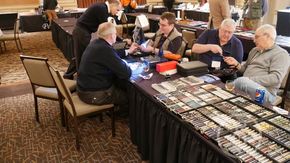 If you want to know DEEP history and info on pens just look for these guys at a pen show