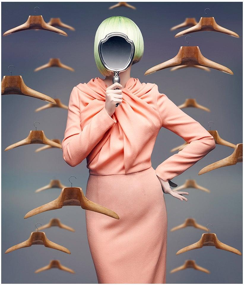 """Maria Barros """"A través del Espejo"""""""
