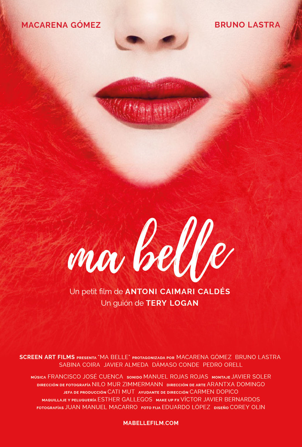 """Ma Belle"" Film Poster"