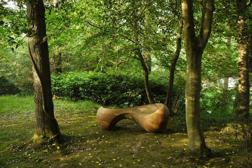 'Union' bench by Phillip Walker
