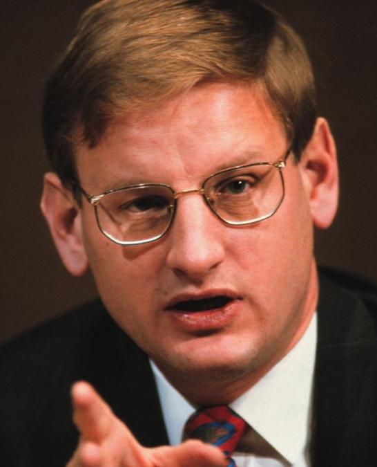 Statsminister Carl Bildt invigde 1993