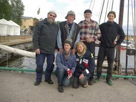 Besättningen på den Åländska fiskesumpen 2012