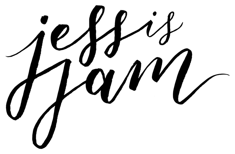 Jess is Jam - Calligraphy & Hand Lettering in Perth, Western Australia