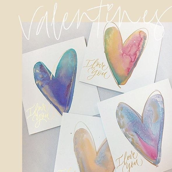 In the lead up to Valentines's Day this year, I got to live out one of my dream jobs, creating greeting cards for @karrinyup_sc. I loved every second of it and their customers got to take home a (complimentary) unique, personalised card for their nearest and dearest. Win/Win!