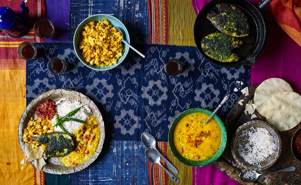 Chai, Chaat & Chutney by Chetna Makan  Octopus Books  Photo: Nassima Rothacker  Food: Lizzie Kamenetsky