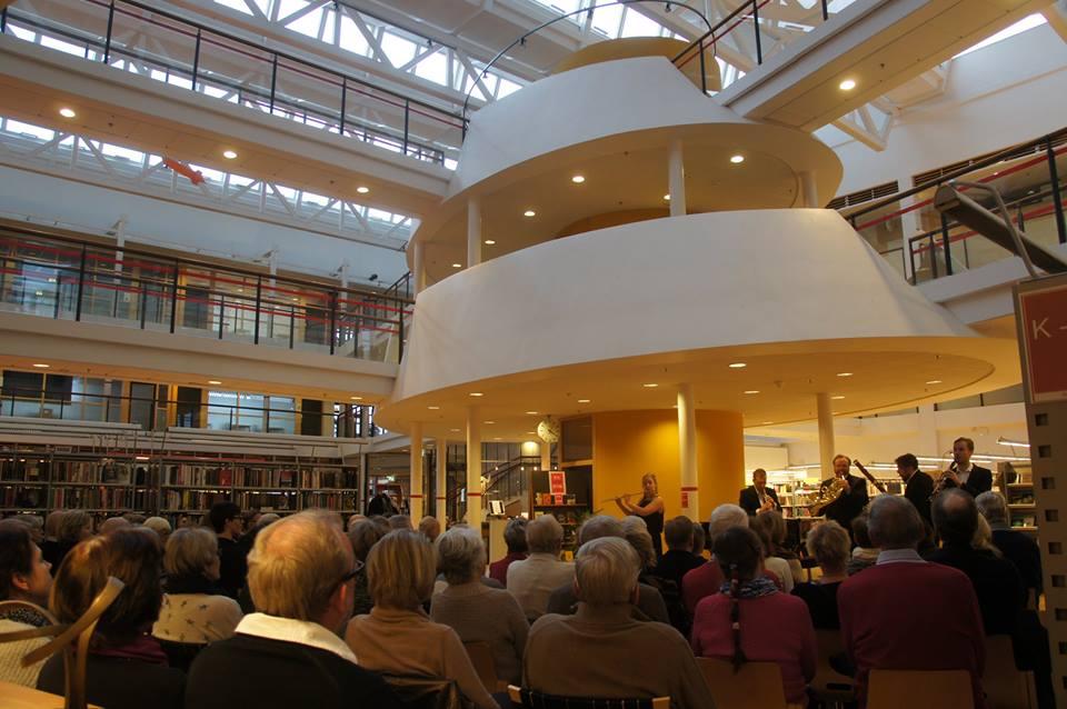 Vinterkonsert i Båstad bibliotek