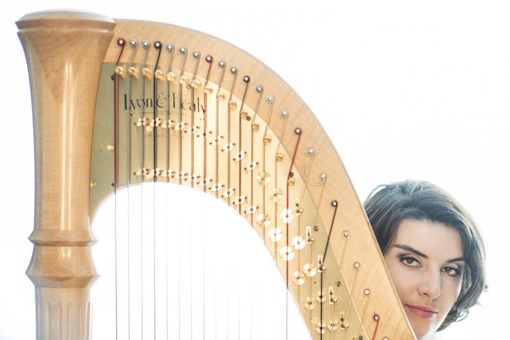 Delphine Constantin-Reznik, harpist