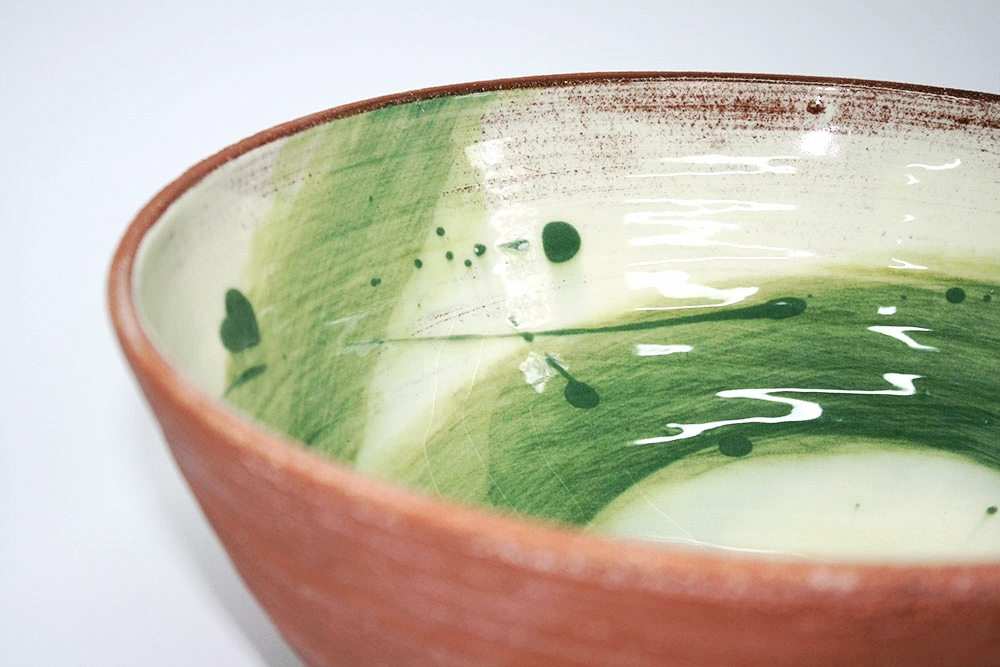 Juniper Green Swoosh Bowl