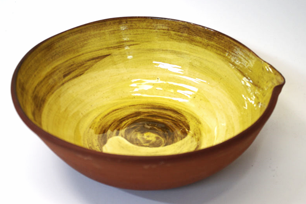 Honey Glaze Swirl Mixing Bowl