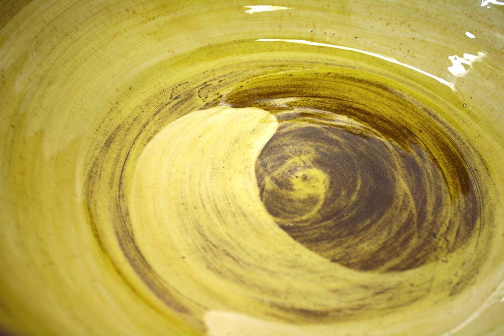 Honey Glaze Swirl detail