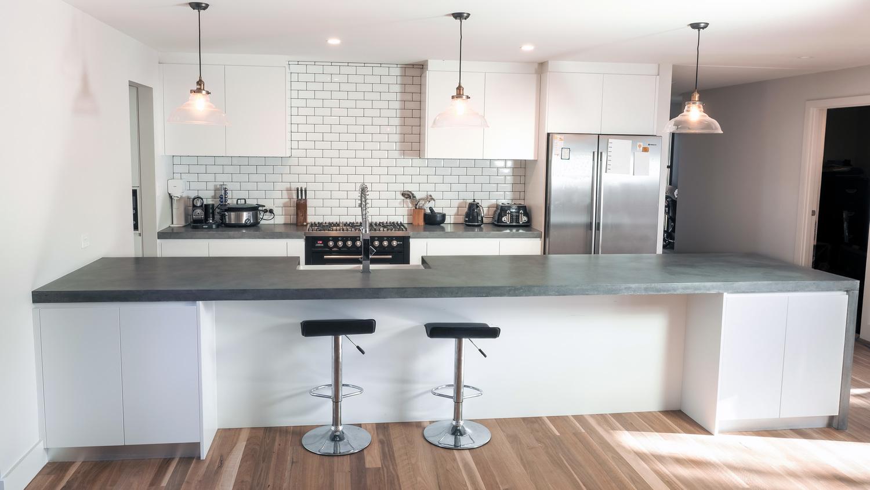 45meter concrete island bench top. Interior Design Ideas. Home Design Ideas