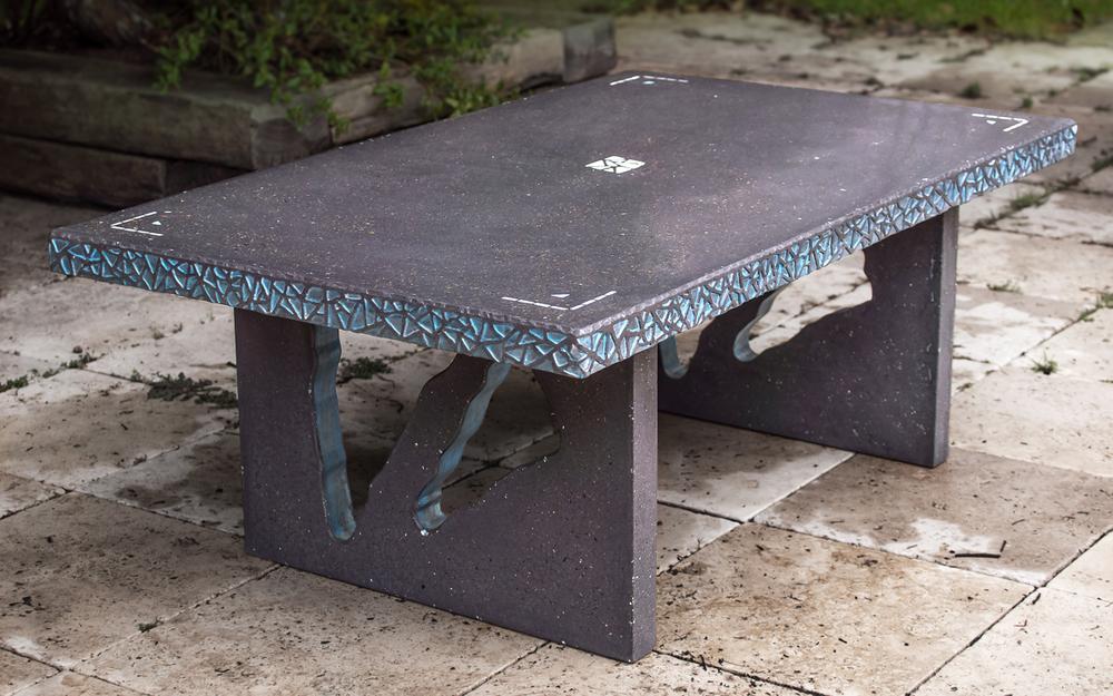 Custom Concrete Coffee Table
