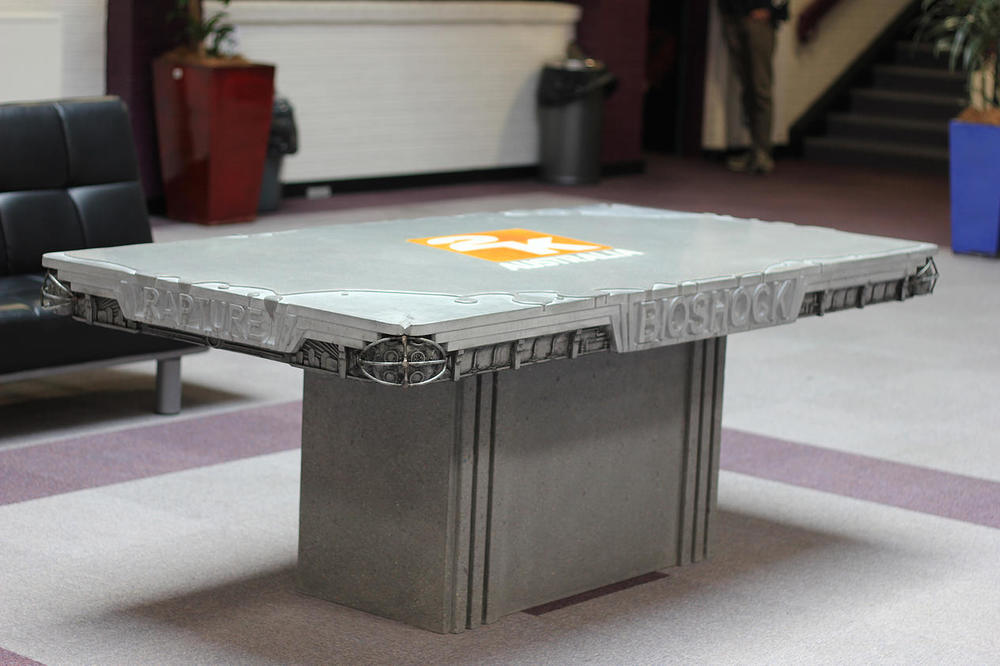 2kAustralia concrete Table