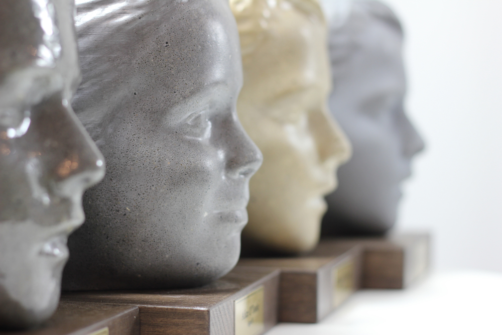 concrete busts