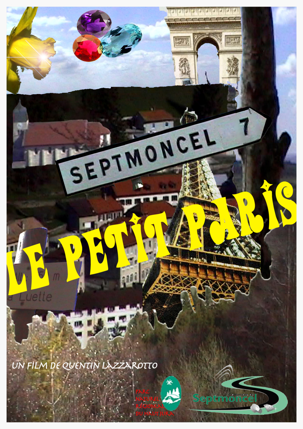 affiche septmoncel le petit paris Quentin Lazzarotto