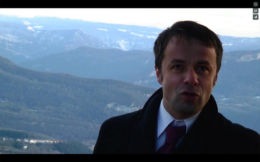 Raphaël Perrin - Maire atypique.Campagne des cantonales, 2008