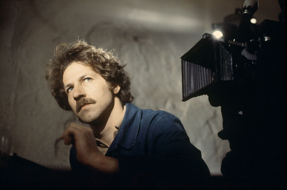 "Werner Herzog sur le tournage de ""heart of glass"" 1975"