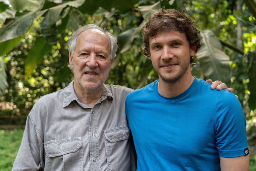 mai 2018 : rencontrer et tourner avec werner herzog (!) .the short film was made under the mentorship of film director Werner Herzog