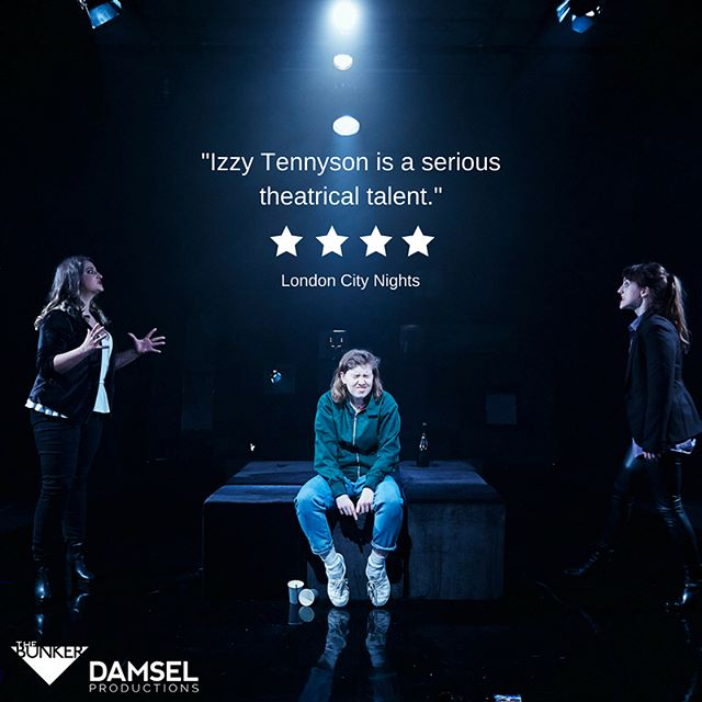 Our #womencrushwednesday are all of our incredibly talented cast of Grotty! On for only two more weeks at @bunkertheatreuk - don't miss them in action 🔥🤩 . . . . . . . . . . . . . #wcw #womancrushwednesday #wednesdaywisdom #lesbian #lgbt #theatre #london #reviews #tickets #booknow #fringe #womeninthearts #womenintheatre #womenintheatrewednesday