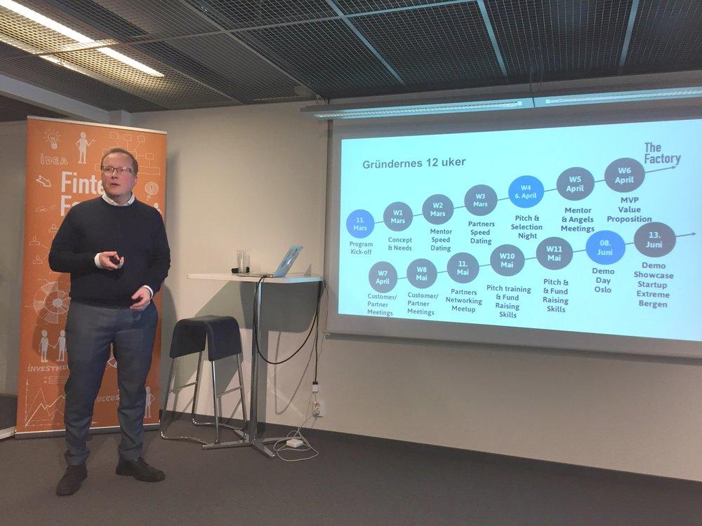 Program Director Hans Christian Bjørne om reisen gründerene skal ha de neste 12 ukene