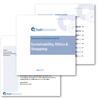Download - 'Sustainability, Ethics & Shopping'