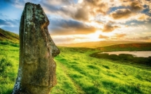 Easter Island civilization's collapse has been related to environmental damage.