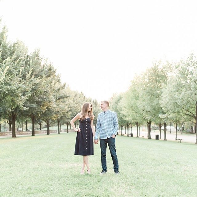 We had the dreamiest evening for Christine and Corey's engagement session 😍 So excited to see these two tie the knot in October — it's going to be amazing!!