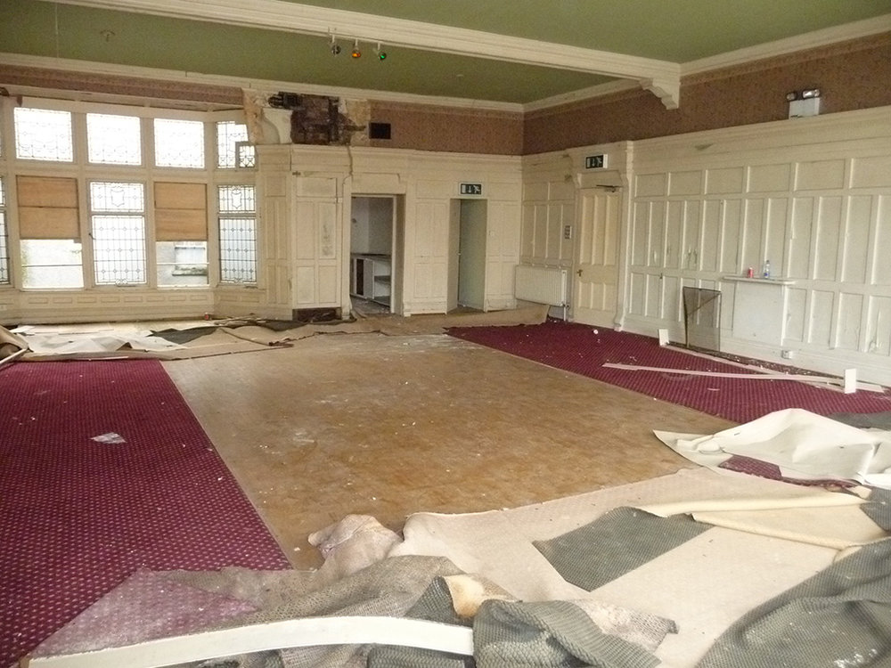 Dining & Function room - before