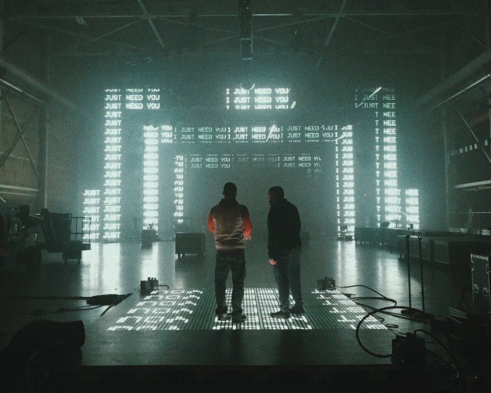 """Tour visuals created for Toby Mac's """"Hits Deep"""" tour 2019."""