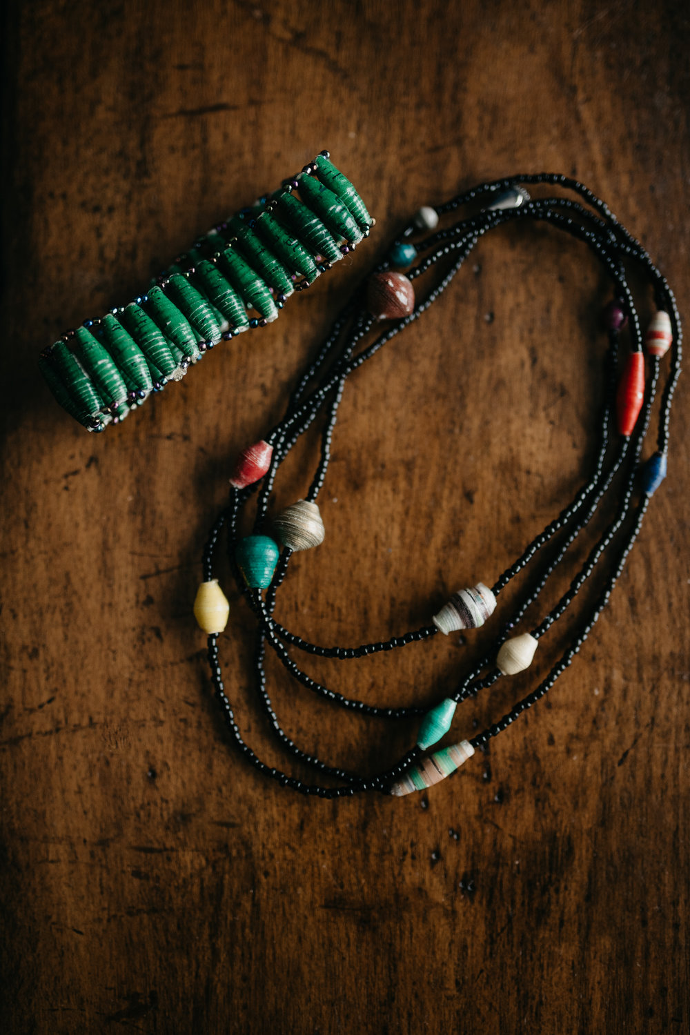 Day 1: Win a handmade necklace and bracelet from Lot2545! Each piece of jewelry is designed and made by women entrepreneurs in Kampala, Uganda.