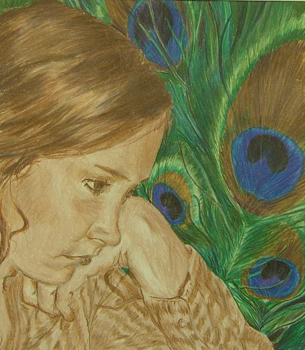 Self Portrait 2007 | Colored Pencil on Paper