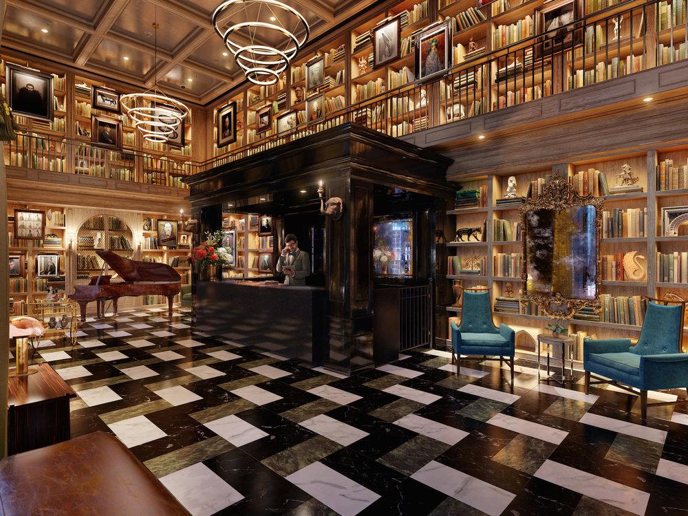 The Harrison Lobby