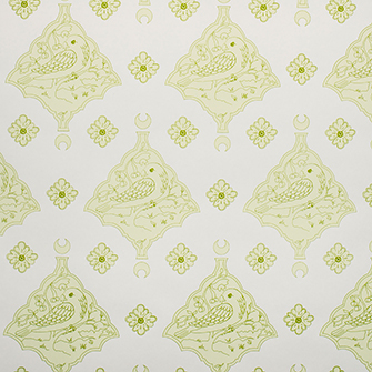 Wallpaper: Oiseau in color Green