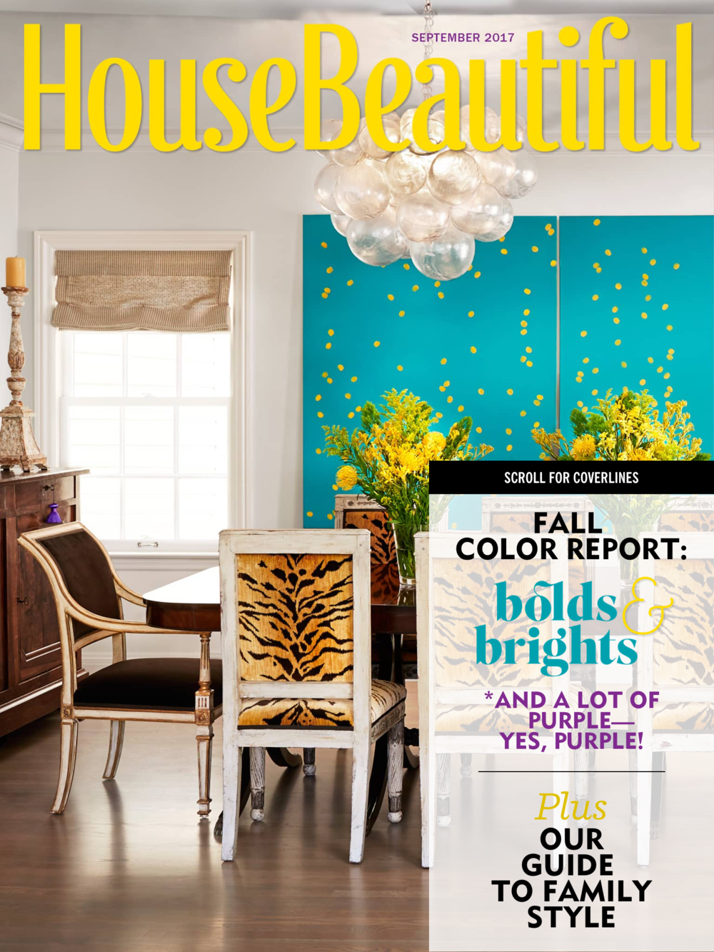 HOUSE BEAUTIFUL- SEPTEMBER 2017